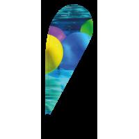 Beachflag C Medium (2,43m)